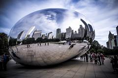 Modern Attraction (Myk Jordan) Tags: chicago illinois unitedstates cloudgate bean chicagobean art streetart