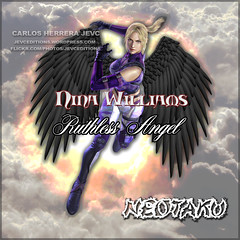 Nina Williams Angel Ruthless (CarlosHerreraJevc) Tags: ninawilliams wordpress flickr fanartsjevc jevcupeditions photoshop tekken fandom 2016 jevcupeditions october01 ruthlessangel irlanda blends angel ruthless namco