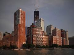 Downtown (beanhead4529) Tags: city nyc newyorkcity urban skyline skyscraper manhattan worldtradecenter hudsonriverpark batteryparkcity freedomtower 1wtc oneworldtradecenter