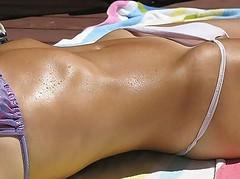 Down Bottom 10 (scotty_h2012) Tags: beach bottom bikini voyeur sunbathing hipbone bikinibridge
