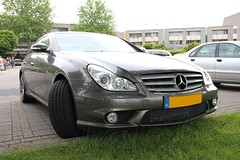CLS 55 AMG (Glenn rondhuis) Tags: color mercedes sharp 55 amg cls