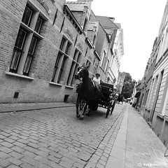 Belgium (Thijs Tennekes) Tags: street horse carriage belgium brugge july 2012 thys tennekes