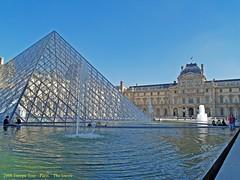 """The Louvre"" Paris France 2006 (Tony Tomlin) Tags: paris france 2006 thelouvre"