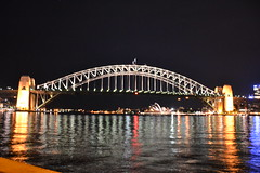 Sydney Harbour Bridge (Simon_sees) Tags: sydney harbour bridge water night operahouse lights reflection harbourbridge colour australia sightseeing icon landmark