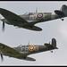 BBMF Spitfire Pair