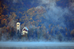 Lake Bled Mist (Atilla2008) Tags: mist lake beautiful fog mood slovenia bled lakebled mygearandme mygearandmepremium mygearandmebronze mygearandmesilver mygearandmegold mygearandmeplatinum mygearandmediamond rememberthatmomentlevel4 rememberthatmomentlevel1 rememberthatmomentlevel2 rememberthatmomentlevel3