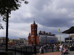 The Bay & Pier Head (CoasterMadMatt) Tags: pictures uk greatbritain summer building southwales wales architecture photography bay photos unitedkingdom britain cymru cardiff picture july photographs caerdydd gb british welsh bae cardiffbay pierhead 2012 baecaerdydd pierheadbuilding decymru coastermadmatt