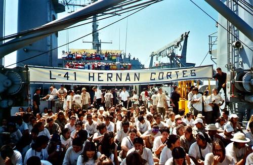178 - Buque de la Armada. Foto de Grupo.
