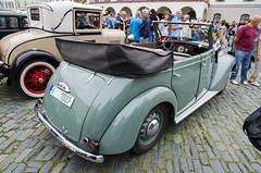 Škoda Rapid convertible (1940) (The Adventurous Eye) Tags: classic cars club meeting convertible rapid rallye olomouc sraz škoda xvii kabriolet závod okruh hanácké 2172012 veteránský xviihanáckéokruh