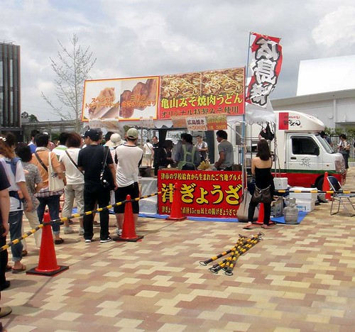 20120715中京競馬観戦〜津ぎょうざ他の行列