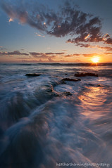 Sunset Swirl (heathth) Tags: ocean sunset sky seascape beach water coast coastal coastline cottesloe westernaustralia beachscape northcottesloe nikond90 sigma1020mmwideangle perthbeaches