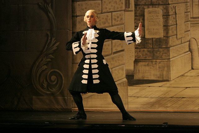 "Joshua Tuifua as The Fencing Master in Ninette de Valois' The Rake's Progress. The Royal Ballet 2006. <a href=""http://www.roh.org.uk"" rel=""nofollow"">www.roh.org.uk</a>"