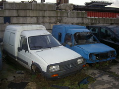 Citron C15 & Renault Express (Fuego 81) Tags: mars de rust citron c15 renault express junkyard recycling scrap zwolle roest schrott demontage epave schroot sloperij autosloop abwrack