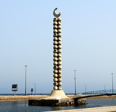 IMG_0772-1 (Wisssss) Tags: sea moon seaside corniche jeddah jiddah
