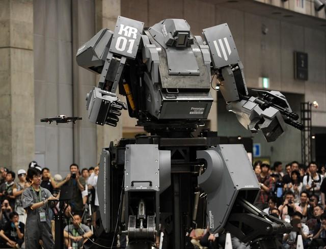 駕駛機器人不是夢~「水道橋重工」量產機器人發表!