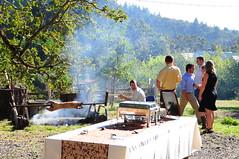 Pig roast (leequa_art) Tags: family wedding friends love cakes outdoor farm vineyards german benandemily