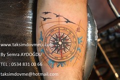 Compass tattoo / Pusula dvme (taksim beyolu dvmeci) Tags: woman art tattoo artist femme models drawings istanbul tattoos taksim examples vrouwen tatouage bayan mannen kiz modle modelleri dovme izimler dovmeciler taksimdovme dovmemodelleri dovmesi