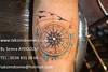 Compass tattoo / Pusula dövme (taksim beyoğlu dövmeci) Tags: woman art tattoo artist femme models drawings istanbul tattoos taksim examples vrouwen tatouage bayan mannen kiz modèle modelleri dovme çizimler dovmeciler taksimdovme dovmemodelleri dovmesi