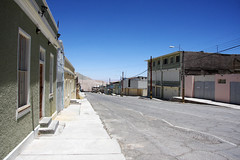 Chuquicamata abandoned mining town, Chile (sensaos) Tags: chile urban abandoned america town mine chili desert decay south ghost ciudad mining ghosttown desierto amerika deserted abandonment muerta zuid chuquicamata abandonado