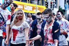 DUBLIN ZOMBIE WALK 2012 (cezzar1981) Tags: ireland dublin irish dead zombie walk cancer society 2012 barnardos irsh digitalcameraclub