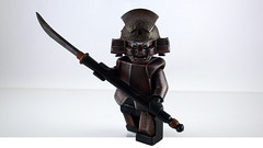 Akai Terukage The Immortal Samurai ([N]atsty) Tags: rust lego samurai minifig custom immortal akai minifigure the flickraward terukage