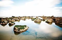 endless (ZerberuZ1) Tags: show sea sky water stone see nikon long exposure belgium tripod north le northsea nd luxembourg nordsee nord vanguard nieuwpoort ndfilter d7000