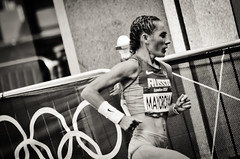London 2012 Marathon - Mayoroya (Alexandre Moreau | Photography) Tags: road portrait london race photography women photos kenya russia marathon victory effort ethiopia 2012 cheapside london2012 olypics gelana mayorova wwwalexandremoreauphotocom