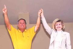 Governor Gutierrez and Lt. Governor Bordallo