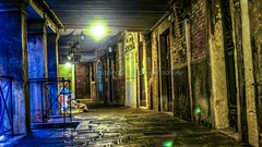 somewhere in venice... (Syahrel Azha Hashim) Tags: travel venice italy detail prime alley nikon colorful nightshot naturallight handheld hdr d5000 syahrel