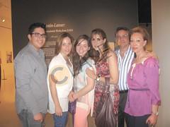 2. Roberto Peña Jr., Magaly Garza, María Magaly González, Martha Alicia González de Peña, Roberto Peña y Lupita Garza