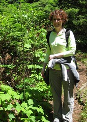 Lisa on the Oregon Coast Trail (Adventures with E&L) Tags: oregon friend oregoncoast oregoncoasttrail