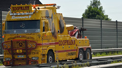 D - Koopmann MB Rosier >Bison< Flying Towing Recovery MB Actros 600LH (BonsaiTruck) Tags: flying camion trucks bison mb recovery towing lorries lkw rosier actros koopmann