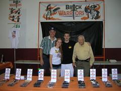 We had to get extra help! (MandaBW) Tags: brickfair brickwarriors