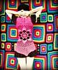Hot Pink Flower Mandala Vest (babukatorium) Tags: pink blue red orange black flower color green wool fashion yellow dreadlocks circle square star sweater rainbow colorful purple handmade lace mosaic turquoise teal oneofakind curtain crochet moda violet style mandala bow mohair blanket afghan blonde daisy hippie dread vest patchwork psychedelic rasta cardigan bohemian doily manta multicolor shrug octagon waistcoat gilet bedspread whimsical extensions fakehair bolero haken häkeln emeraldgreen crochê coperta grannysquares ganchillo colete chaleco fuxia uncinetto dreadextension tığişi horgolt uvgreen wooldread fakedread babukatorium