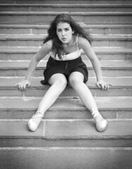 The hidden language (Henrik Eikefjord) Tags: bw ballet woman white black girl dance swan ballerina