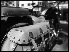 Indian Scala (Burnt Umber) Tags: mamiya film mediumformat skull chopper 645 florida 200 motorcycle scala miamibeach dr5 ©allrightsreserved sekor45mmf28 fpro0404xorangefilter