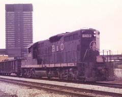 Baltimore & Ohio 6493 (CPShips) Tags: philadelphia bo 1976 emd gp9