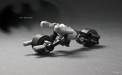 Lego Mini Batpod (_Tiler) Tags: bike lego mini batman vehicle dccomics batmobile batmanbegins moc tumbler thedarkknight batpod miniscale thedarkknightrises tdkr