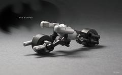 Lego Mini Batpod (_Tiler) Tags: bike lego mini batman vehicle dccomics batmobile batmanbegins moc tumbler thedarkknight batpod miniscale thedarkknightrises tdkr