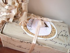 Sonnet's Handmade Box (Jordan Taylor - The Free Folk) Tags: art ooak sewing shakespeare romantic artdoll sonnet shabby clothdoll