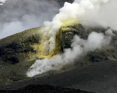 19. Mt Tongariro Sulphur Vent  Cropped 11/8/12 (Grumpy Eye) Tags: red vent mt sulphur tongariro mttongariro teleconverter17x nikkor300mm28 nikond7000