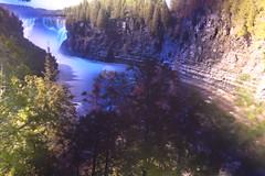 Super-long exposure of Kakabeka Falls (Inanimate Carbon Rod) Tags: ontario canon river bay falls thunder xsi kakabeka kaministiquia