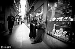 Gypsy (Luca Morlok) Tags: street venice nikon venezia gitanes zingare morlok lucamorlok