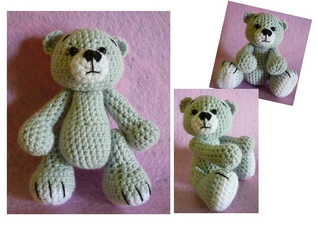 Grey Bear Amigurumi Crochet Pattern : The Worlds newest photos by Lena Chiok - Flickr Hive Mind