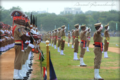 Independence Day Celebrations , Hyderabad (Arvind Ramachander) Tags: india army march uniform day indian salute parade celebrations tricolor aug independence past 15th grounds secunderabad