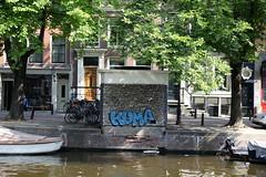 Kuma (SReed99342) Tags: streetart holland netherlands amsterdam graffiti kuma