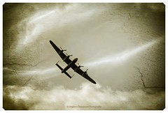 Vintage Skies (Stephen Champness) Tags: world show old 2 sky clouds plane vintage wings war military sony adobe hero lancaster alpha hdr pilot app 2012 lightroom 100cameras ipad a290 photomatix bpmber