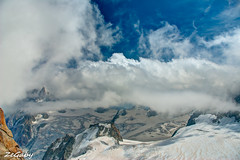 Under the Clouds (ZeGaby) Tags: nature montagne alpes pentax neige hdr k200d