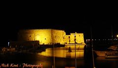 (Nick Kout) Tags: sea black colors night shot sony cybershot greece crete nightview dsc heraklion s600