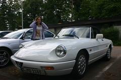 Alfa Romeo (mgummert) Tags: auto classic car alfa romeo 2012 beutelsbach homeleave heimaturlaub